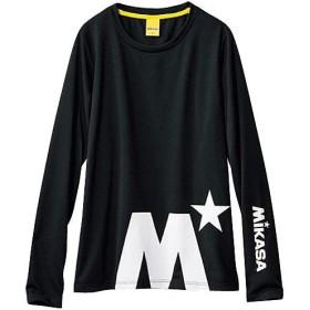 30%OFF【レディース】 長袖Tシャツ(MIKASA)(吸汗速乾・UVケア) - セシール ■カラー:ブラック ■サイズ:M,L,3L