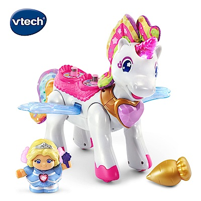 【Vtech】夢幻城堡系列-公主與魔法飛天獨角獸