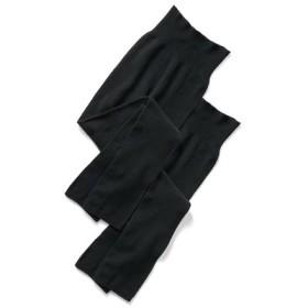 肌にやさしくフィットする 無縫製レギンス〈ブラック〉 HIROMI YOSHIDA. フェリシモ FELISSIMO【送料無料】