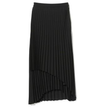 B:MING by BEAMS OUTERSUNSET / Wrap pleats skirt レディース マキシ・ロング丈スカート BLACK M