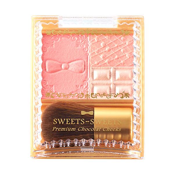 SWEETS SWEETS 巧克力莊園甜頰餅 03-蜜桃蛋糕 (腮紅)