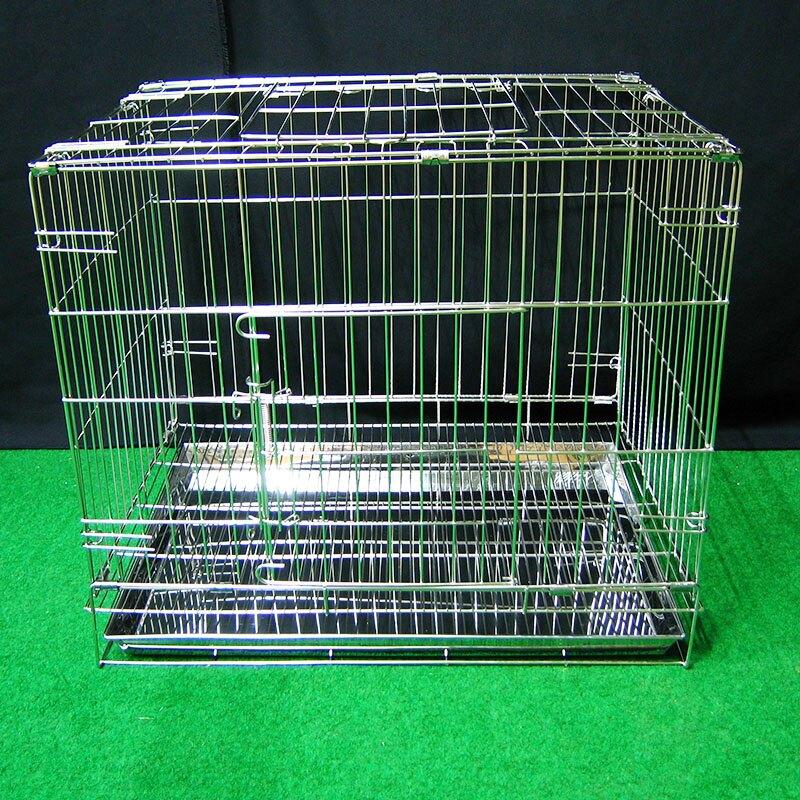 (缺貨中)小型兔 兔屋 寵物屋 兔窩 寵物籠 柵欄 2尺折疊兔籠  不鏽鋼摺疊式2尺白鐵線籠 空間特工