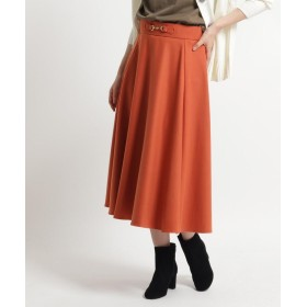 Dessin(Ladies)(デッサン(レディース)) 【S~Lサイズ、洗える】ビットフレアスカート