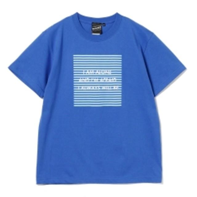 BEAMS T 【SPECIAL PRICE】BEAMS T / Alone & Afraid Tee メンズ Tシャツ BLUE S