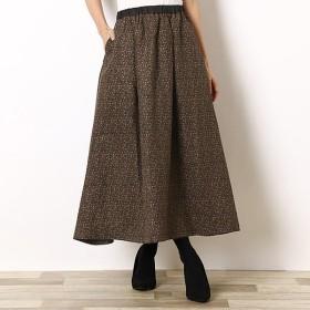 [マルイ]【セール】フラワーptタックギャザースカート/リラシク(LILASIC)