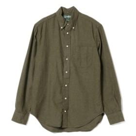 fennica <MEN>Gitman Vintage / クラシック ボタンダウンシャツ メンズ カジュアルシャツ OLIVE/OD M