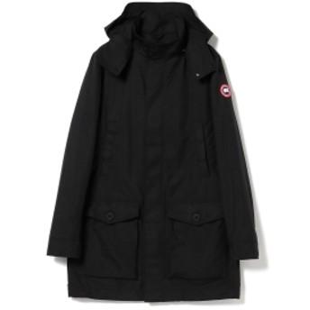 BEAMS CANADA GOOSE / CREW TRENCH メンズ その他コート BLACK XL