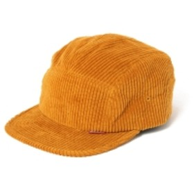 BEAMS T HELLRAZOR / Under Ground Forces Corduroy Camp Cap メンズ キャップ YELLOW ONE SIZE