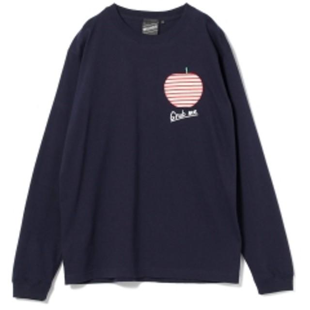 BEAMS T 【SPECIAL PRICE】BEAMS T / Wish You Bear Long Sleeve Tee メンズ Tシャツ NAVY XL