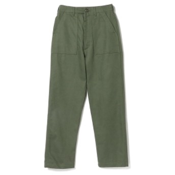 BEAMS BOY orslow / High Waist Fatigue Pants レディース カジュアルパンツ GREEN 3