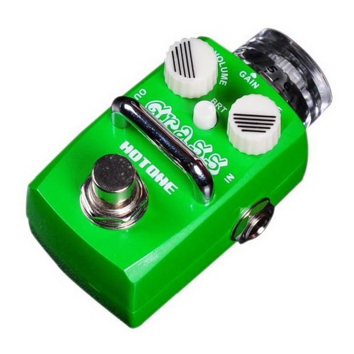 Hotone GRASS Overdrive 電吉他/電貝斯 Bass 單顆過載效果器 [唐尼樂器]
