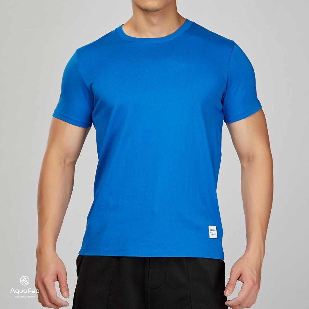 Converse Sportswear Tee 男子 藍色 運動 休閒 圓領 短袖 10000658-A11