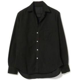 Ray BEAMS Frank & Eileen / MLSKN シャツ レディース カジュアルシャツ BLACK XS