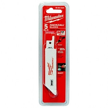 "Milwaukee 4""軍刀鋸片組49-00-5424(5入)"