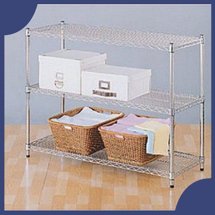【屬過大商品,運費請先詢問】辦公家具 承重型波浪鐵架系列 S45-12090-3 鐵架 櫃子 收納 架子 置物
