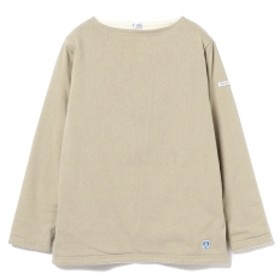 Ray BEAMS ORCIVAL / ボーダー フリース ライニング レディース カットソー bistre(off wht) 2