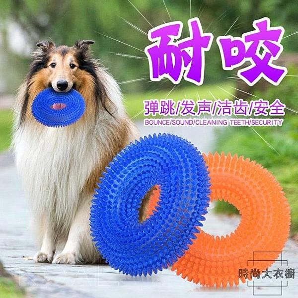 寵物玩具大狗磨牙玩具橡膠球發聲玩具球耐咬【時尚大衣櫥】