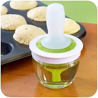 廚房小件用品耐高溫硅膠油刷油瓶套裝