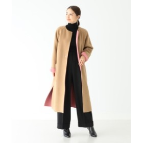 Demi-Luxe BEAMS 【滝沢眞規子 着用】【VERY11月号掲載】Demi-Luxe BEAMS / リバーシブルコート レディース その他コート BEIGE 36