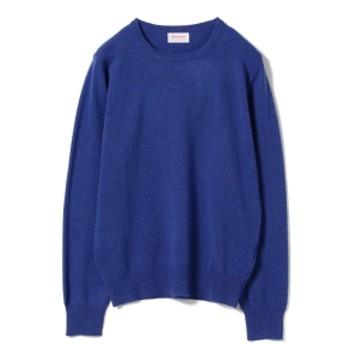 BEAMS F DRUMOHR / DONNACHIE クルーネックニット メンズ ニット・セーター BLUE/778 48