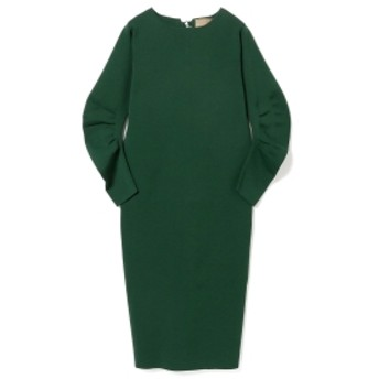 EFFE BEAMS ROOM NO.8 / レースアップ ワンピース レディース ワンピース GREEN ONE SIZE