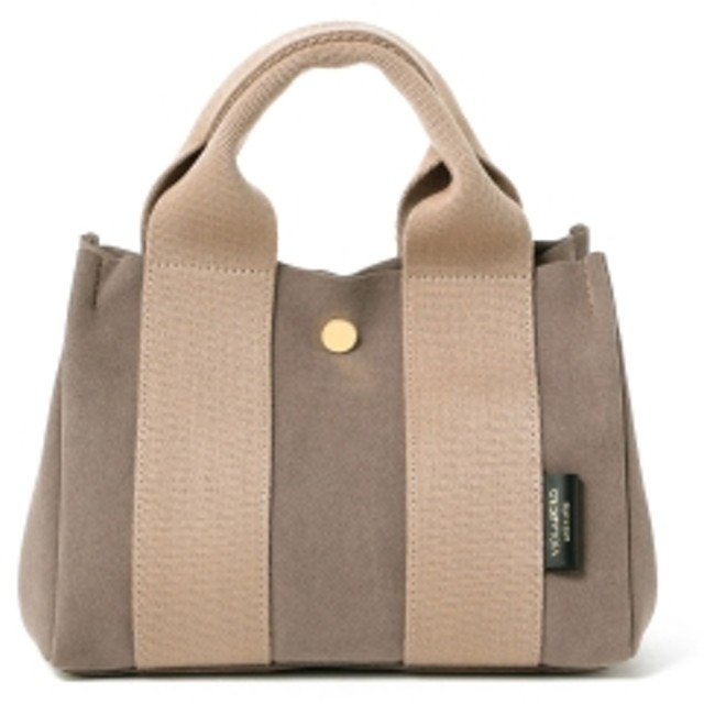 Demi-Luxe BEAMS VIOLAd'ORO / ジーノ ナイロン ミニトートバッグ レディース トートバッグ TAUPE ONE SIZE