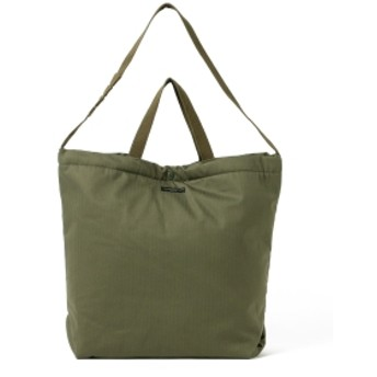 BEAMS PLUS ENGINEERED GARMENTS / CARRY TOTE COTTON TWILL メンズ ショルダーバッグ olive ONE SIZE