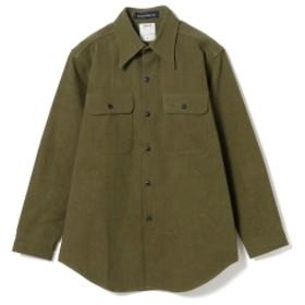 Pilgrim Surf+Supply MADISONBLUE / Dry Cotton Shirt レディース カジュアルシャツ KHAKI 01