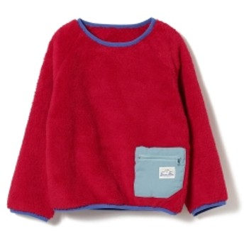 BEAMS mini BEAMS mini / ダブルボア プルオーバー (90~150㎝) キッズ スウェット RED 130
