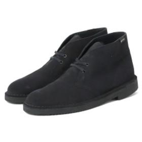 BEAMS Clarks / デザートブーツ Gore-Tex(R) ブラックスエード メンズ ブーツ・ブーティ BLACK 9