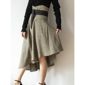 [RESEXXY]コルセットアシメスカート
