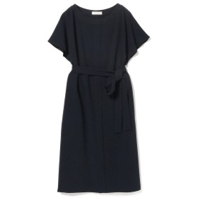 Demi-Luxe BEAMS Demi-Luxe BEAMS / とろみ ドルマンワンピース レディース ワンピース NAVY 38