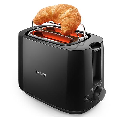 PHILIPS飛利浦 電子智慧型厚片烤麵包機HD2582/92【愛買】