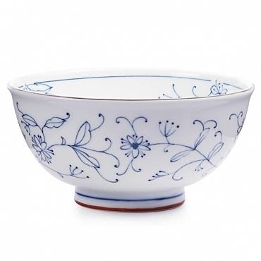 線唐草日式輕量麵碗14.5cm