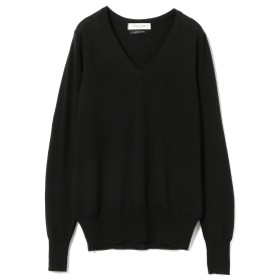 Demi-Luxe BEAMS Demi-Luxe BEAMS / Loro Piana Vネックニット レディース ニット・セーター BLACK ONE SIZE