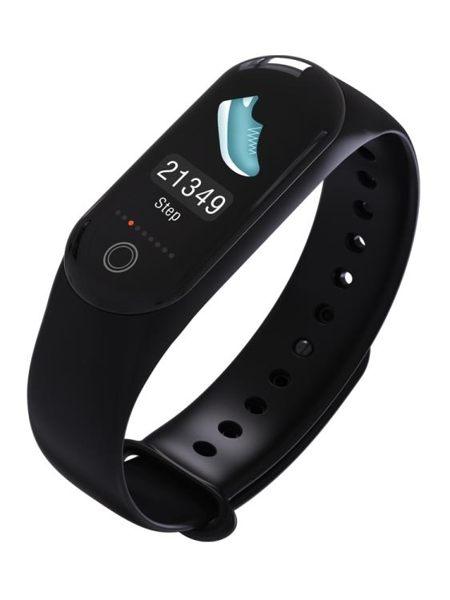 彩屏智慧手錶手環監測運動計步游泳防水睡眠監測男女通用多功能運動手環
