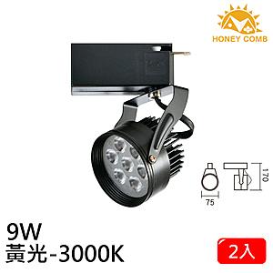 HONEY COMB LED 9W 軌道式燈具 2入一組TK6104-3 黃光