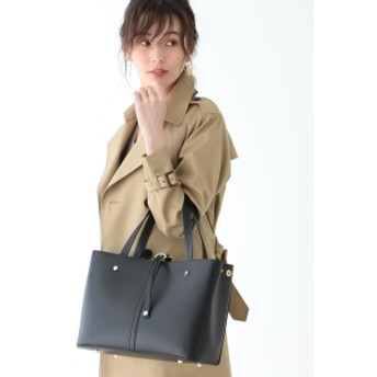 B:MING by BEAMS MARCO BIANCHINI / ビッグ2WAY トートバッグ レディース トートバッグ BLACK ONE SIZE