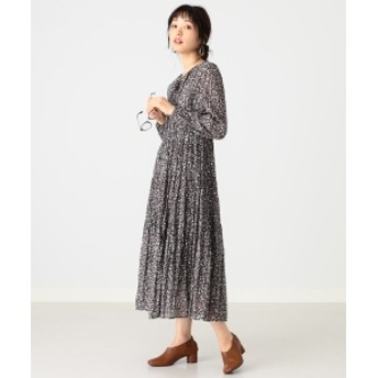 B:MING by BEAMS B:MING by BEAMS / ワッシャー ティアードワンピース レディース ワンピース FLOWER S