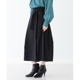 Demi-Luxe BEAMS Demi-Luxe BEAMS / タックコクーンスカート レディース その他スカート BLACK 36