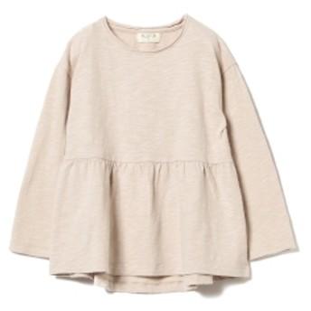 こども ビームス PLAY UP / Jersey Tシャツ 19(3~10歳) キッズ Tシャツ PINKBEIGE 8y