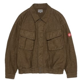 BEAMS C.E / Grey Noice ボタン ジャケット メンズ ブルゾン BROWN L