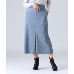 Demi-Luxe BEAMS 【Oggi12月号掲載】【BAILA11月号掲載】Demi-Luxe BEAMS / エコスエードスカート レディース その他スカート SAX 38