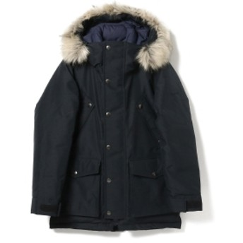 BEAMS PLUS WOOLRICH / ARCTIC DOWN PARKA NOCPSW1937 メンズ ブルゾン MELTON BLUE L