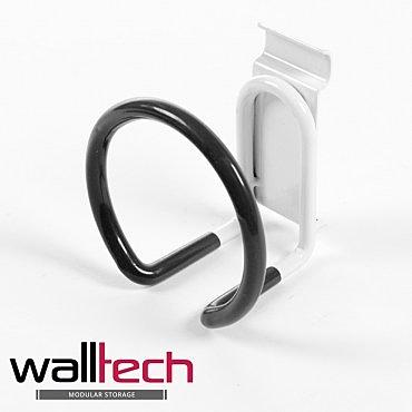 法國品牌 walltech 掛鉤 圓形型 白色烤漆款