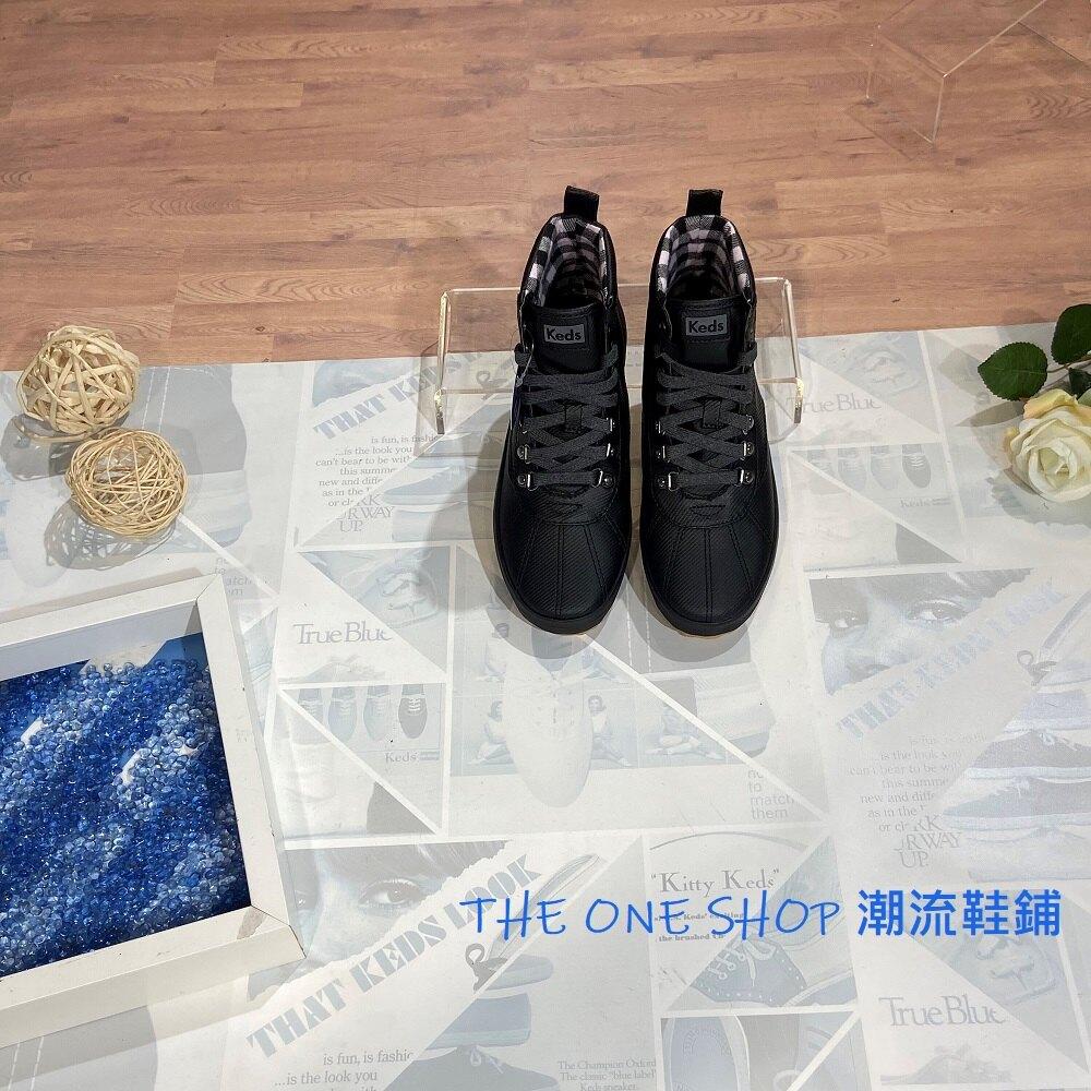 Keds SCOUT BOOT 雨靴 靴子 長靴 高筒 防水 防潑水 防塵 輕便 膠底 止滑 黑色 WF60607