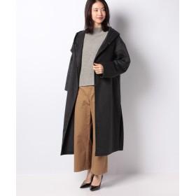 【30%OFF】 マーコート double face hooded long coat レディース GRAY f 【MARcourt】 【セール開催中】