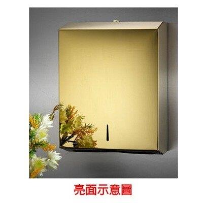 【屬過大商品,運費請先詢問】鈦金紙巾箱(雙包)/C29A-T
