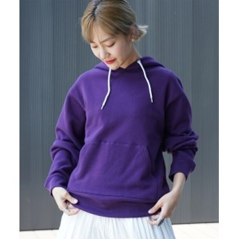 BEAMS BOY FRUIT OF THE LOOM × BEAMS BOY / スウェット パーカ 19FW レディース パーカー PURPLE ONE SIZE