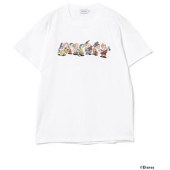 BEAMS Yu Nagaba / 7人のこびと Tシャツ メンズ Tシャツ WHITE XL
